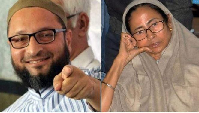 ममता बनर्जी, ओवैसी, बंगाल
