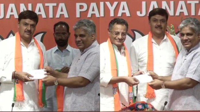 BJP में शामिल
