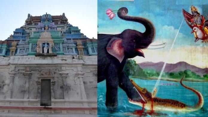 गजेंद्र वर्धा पेरुमल मंदिर