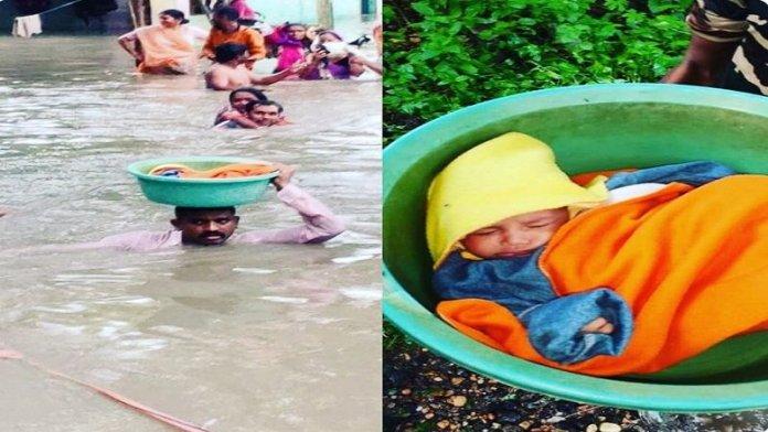 बाढ़ से बेहाल
