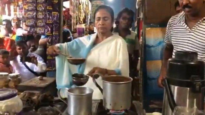 ममता बनर्जी, चाय