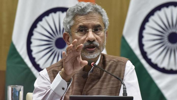 विदेश मंत्री एस जयशंकर (तस्वीर HTMedia से साभार)