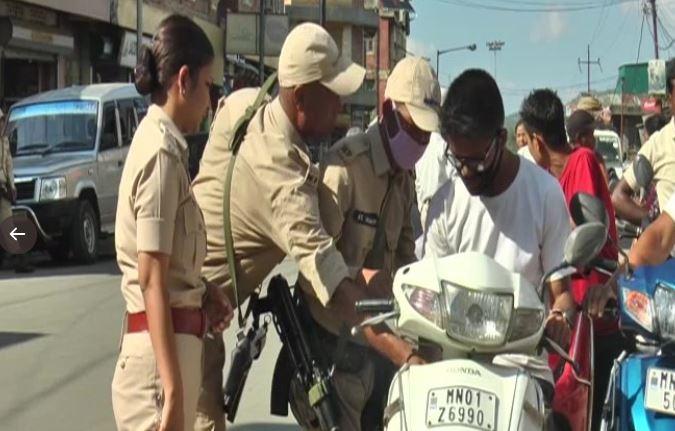 मणिपुर, ट्रैफिक पुलिस
