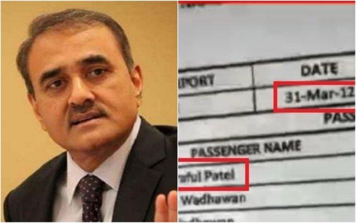 टाइम्स नाउ के दावे का आधार PMC घोटाले के आरोपित के चार्टर्ड विमान की यात्री सूची है