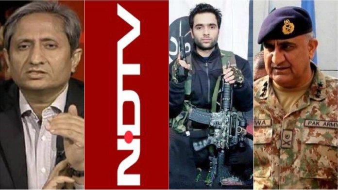 रवीश, एनडीटीवी, पाकिस्तानी आतंकी और पाक सेना