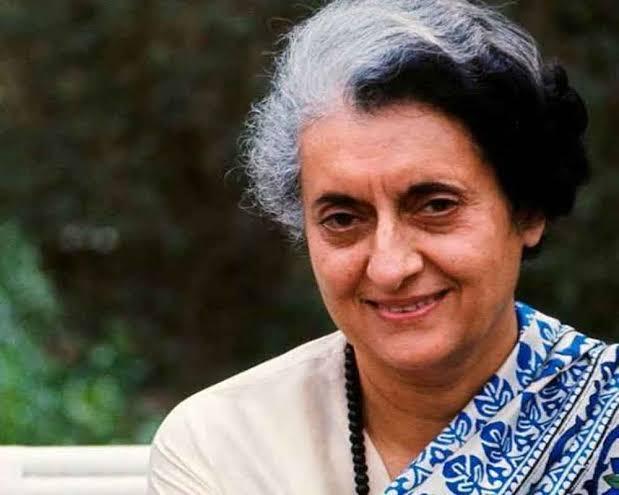 इंदिरा गाँधी (पूर्व प्रधानमंत्री, तस्वीर The Pioneer से साभार)