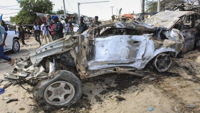 सोमालिया, कार बम ब्लास्ट