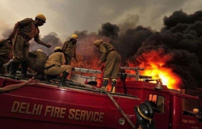 दिल्ली, आग