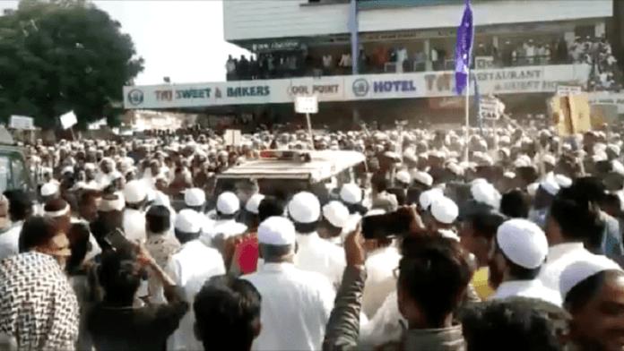 CAA, मुस्लिम भीड़, गुजरात