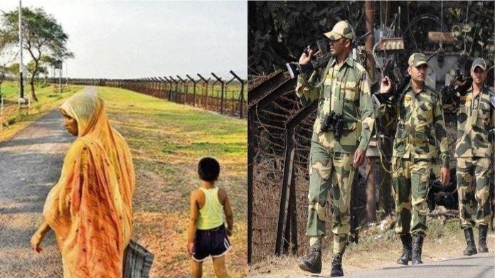 भारच-बांग्लादेश, घुसपैठिए