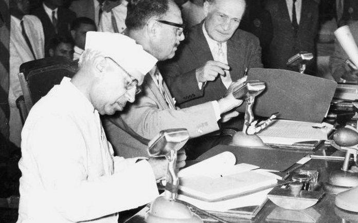 नेहरू, सिंधु जल समझौता