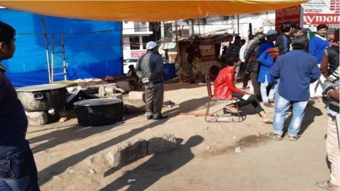 शाहीन बाग, पुलिस कार्रवाई