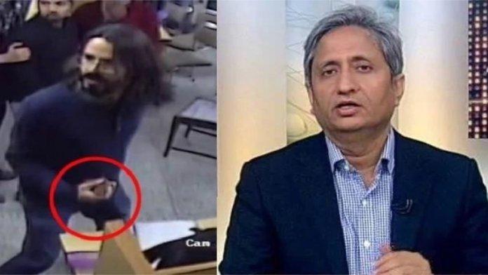 रवीश कुमार, जामिया लाइब्रेरी हिंसा