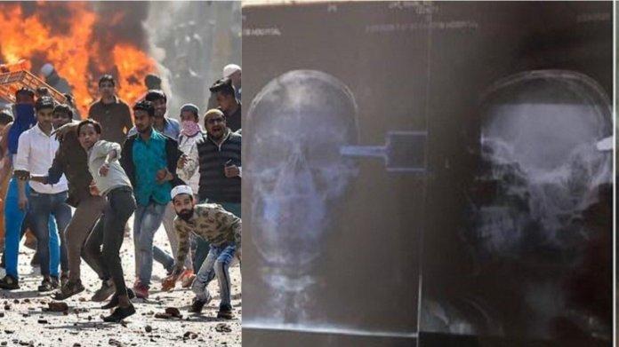 दिल्ली हिंसा, विवेक पर हमला