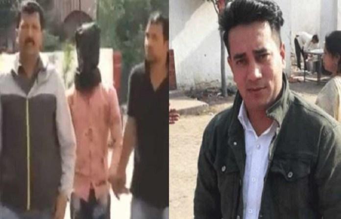अंकित शर्मा, हत्या, सलमान गिरफ्तार
