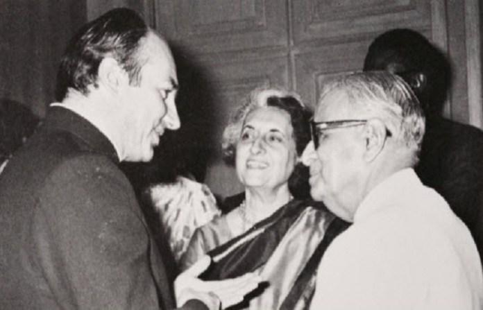 हिदायतुल्लाह, इंदिरा गाँधी
