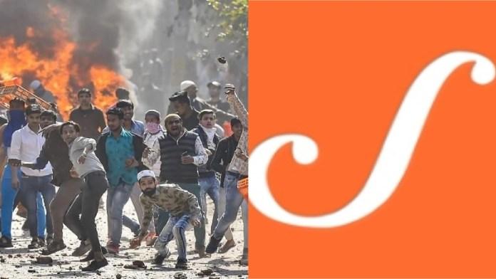 दिल्ली दंगा, स्क्रॉल