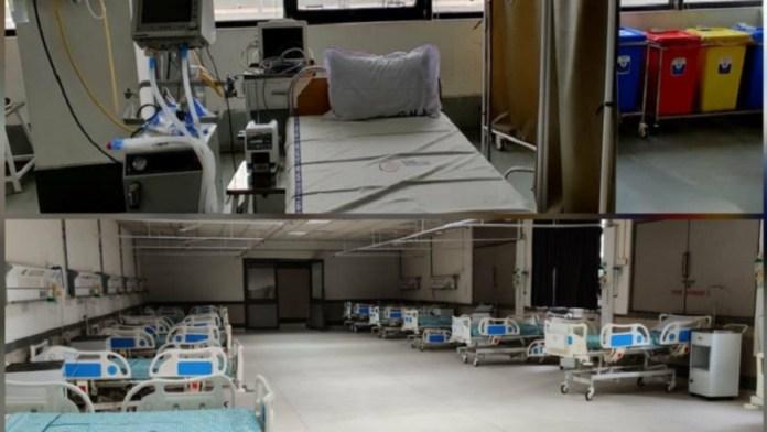 गुजरात, COVID hospital