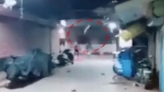 कोलकाता में बमबारी