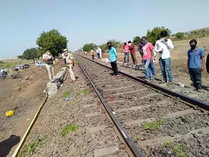औरंगाबाद-महाराष्ट्र-ट्रेन