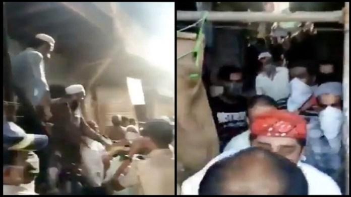 मुंबई कुर्ला पुलिस हमला