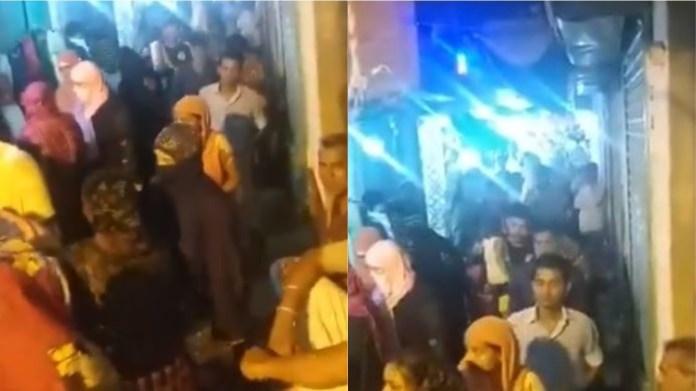 कोलकाता के अयूब नगर से आई video