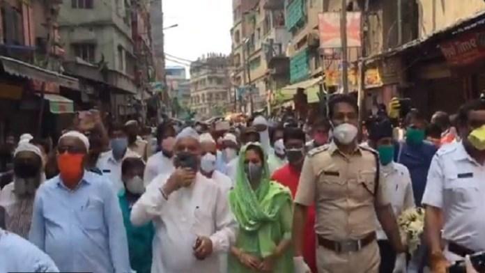 पश्चिम बंगाल तृणमूल शांति रैली