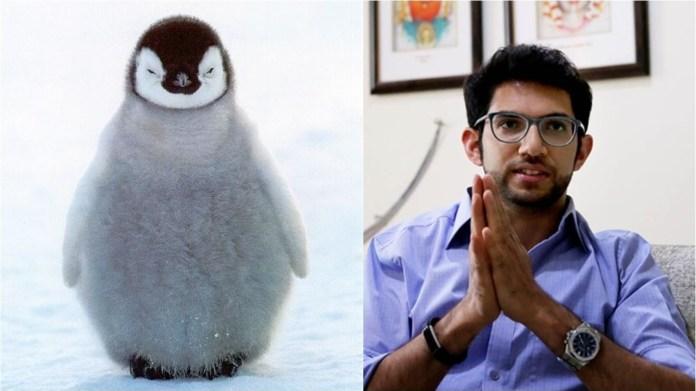 आदित्य ठाकरे बेबी पेंग्विन