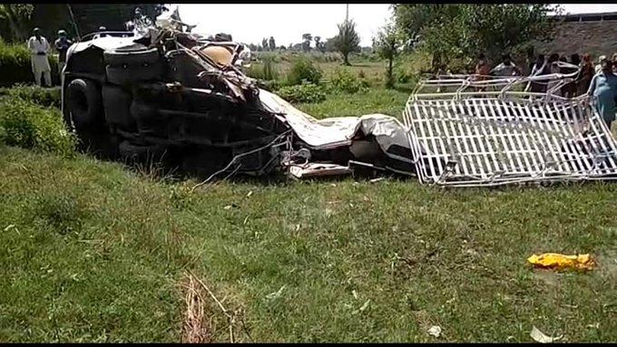 पाकिस्तान में सिख यात्रियों की मृत्यु