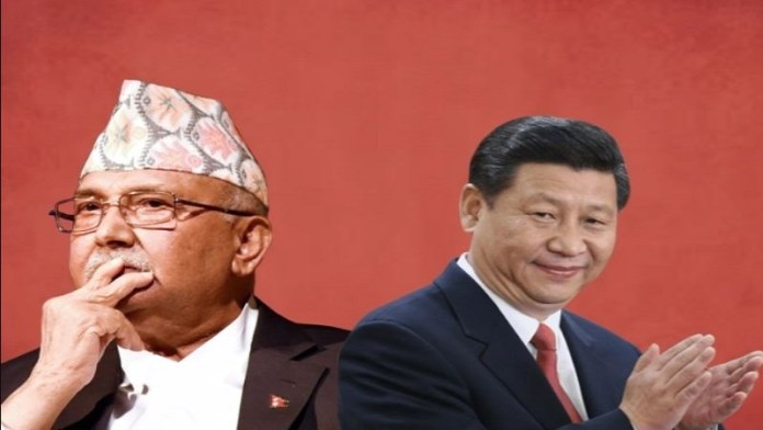 चीन पीएम ओली नेपाल