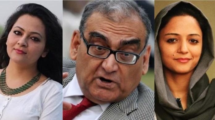 आरफा खान्नुम शेरवानी, पूर्व न्यायाधीश काटजू और शेहला रशीद