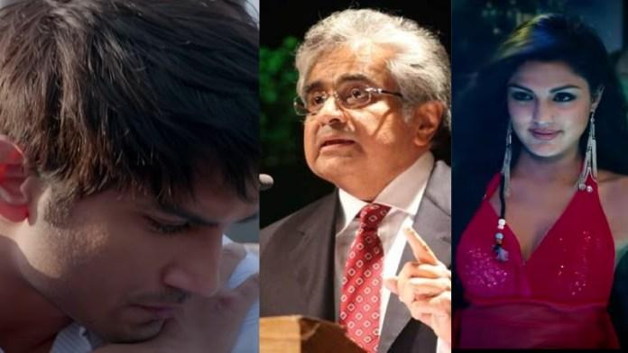 सुशांत सिंह राजपूत, हरीश साल्वे और रिया चकवर्ती