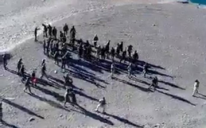 लद्दाख भारत चीन सेना झड़प