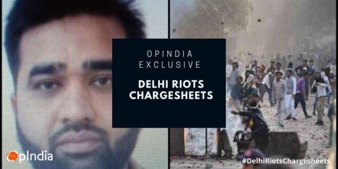 फैजल फारुख, दिल्ली दंगा