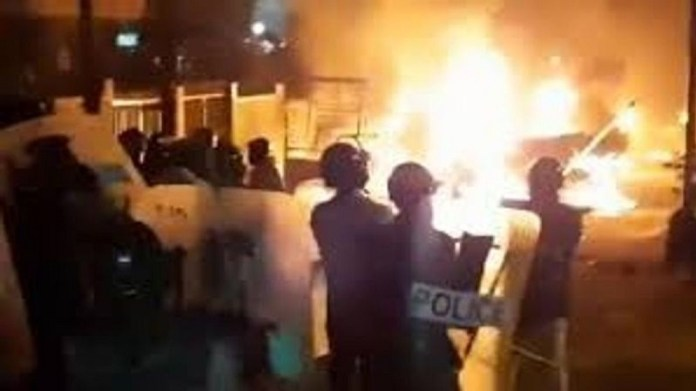 बेंगलुरु दंगा-कांग्रेस