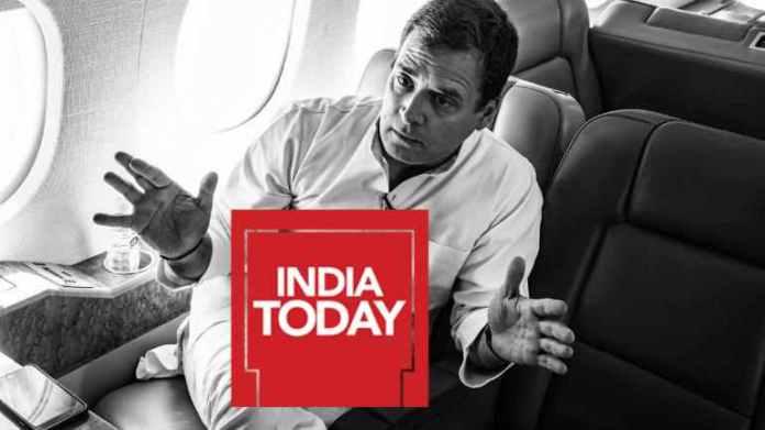 राहुल गॉंधी, इंडिया टुडे
