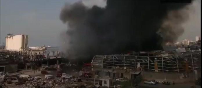 लेबनान आग