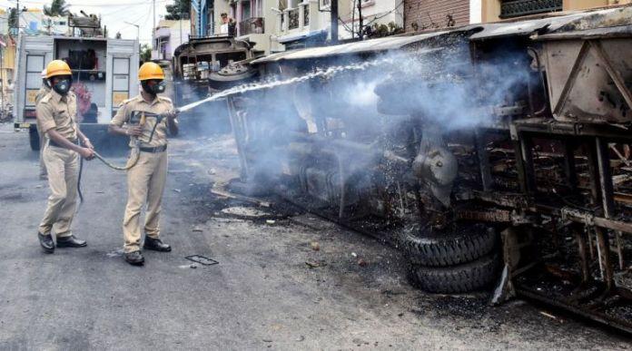 बेंगलुरु दंगे