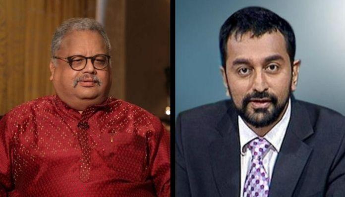 राकेश झुनझुनवाला और श्रीनिवासन जैन