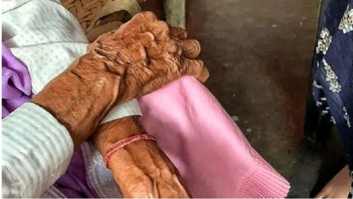 90 साल की महिला रेप