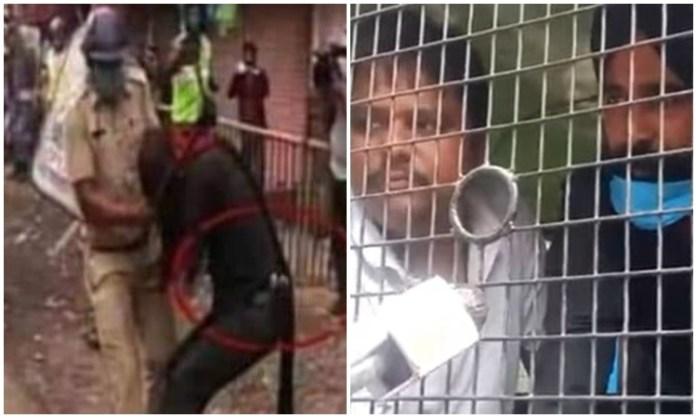 सिख सुरक्षाकर्मी की बंगाल पुलिस ने खींची पगड़ी