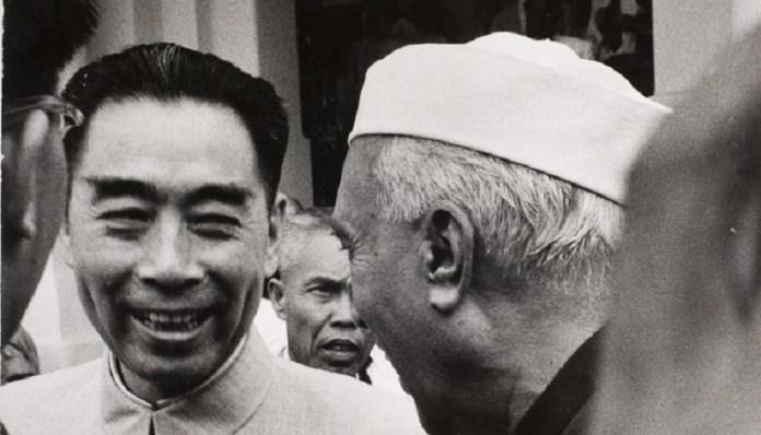 नेहरू-चीनी प्रीमियर झाउ एन लाई