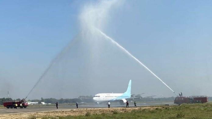 दरभंगा एयरपोर्ट, बिहार, विमान