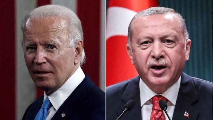 जो बायडेन, तुर्की, राष्ट्रपति