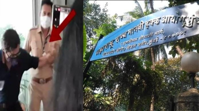 अर्नब गोस्वामी, रायगढ़ पुलिस, मानवाधिकार आयोग