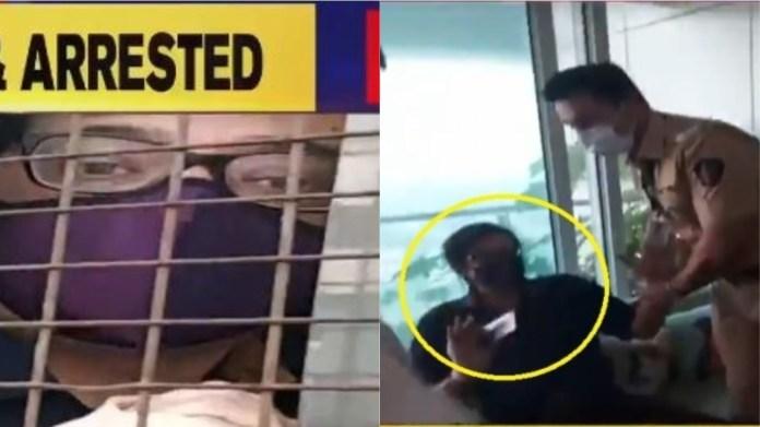 अर्णब गोस्वामी मुंबई पुलिस