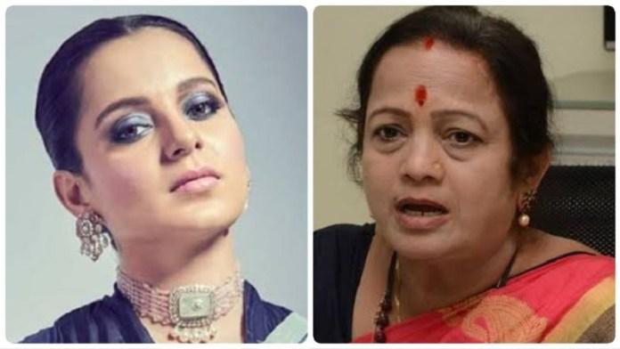 अभिनेत्री कंगना रनौत और मुंबई मेयर किशोरी पेडनेकर