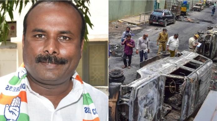 कॉन्ग्रेस नेता संपत राज, बेंगलुरू हिंसा