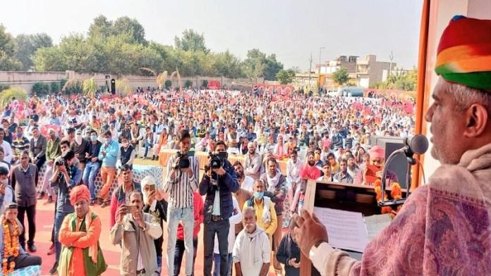 चौपाल, किसानों, FIR, राजस्थान