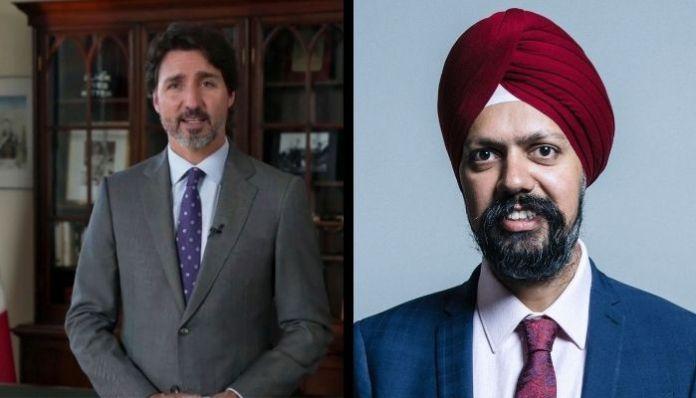 किसान विरोध प्रदर्शन के मुद्दे पर जारी है कनाडा और यूके की दखलंदाज़ी